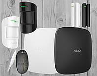 Комплект беспроводной GSM сигнализации Ajax StarterKit (белый, черный)