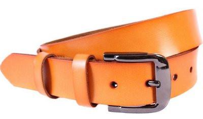 Превосходный ремень из искусственной кожи 301107 коричневый ДхШ: 120х3,3 см.