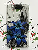 Чехол для Samsung Galaxy A5 (Цветы)
