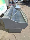 Вітрина холодильна 4 м. Arneg б у., Гастрономічна вітрина бу, фото 4