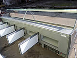Вітрина холодильна 4 м. Arneg б у., Гастрономічна вітрина бу, фото 6