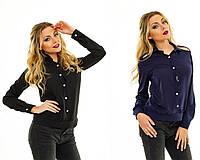 Женская  блузка длинный рукав