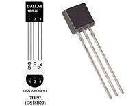 Датчик температуры  Dallas DS18B20