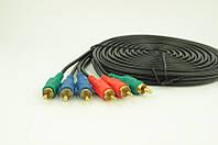Аудио-кабель 3RCA 5м