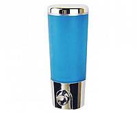 Дозатор для жидкого мыла Zerix Z401 (сине-белый) (380 мл).