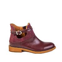 Женские ботинки Aura 4832669 борд. кожа, фото 1