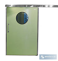 Лакированные двери с нержавеющей коробкой