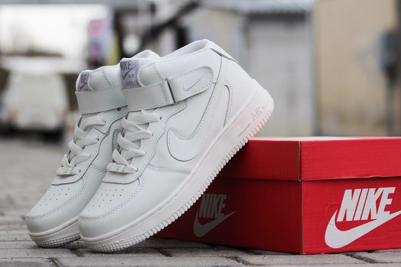 f38c48b0 Кроссовки женские Nike Airforce высокие белые 1770, цена 845,01 грн.,  купить в Хмельницком — Prom.ua (ID#510149061)