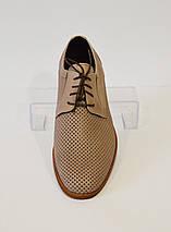 Бежевые мужские туфли Tapi 5222, фото 3