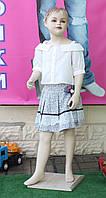 Костюм летний блуза+юбка