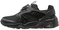 Мужские кроссовки Puma Disc Blaze All Black (Пума Диск Блейз) черные