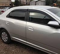 Дефлекторы окон (ветровики) Chevrolet Cobalt 2012