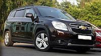 Дефлекторы окон (ветровики) Chevrolet Orlando '2010