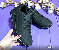 Кроссовки черные женские Найк аир макс