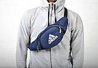 Сумка бананка через плечо, на пояс банан / Adidas  /