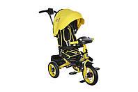 Велосипед 3-х колесный MiniTrike T400 желтый
