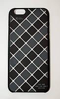 Чехол на Айфон 6/6s Cococ приятный Пластик Сетка Матовый Черный Серый