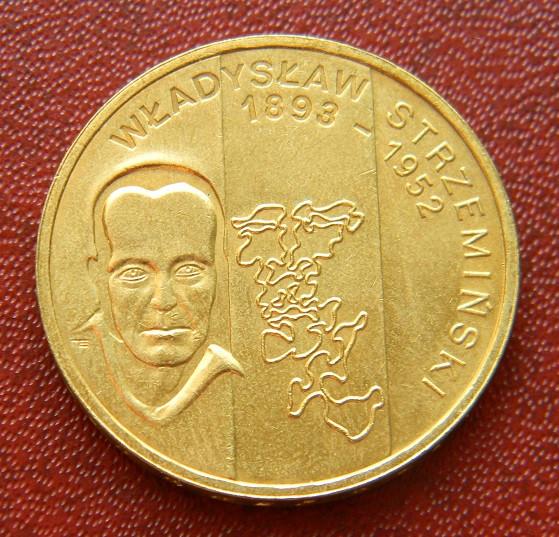 Польша 2 злотых 2009 г. Владислав Стржеминский'