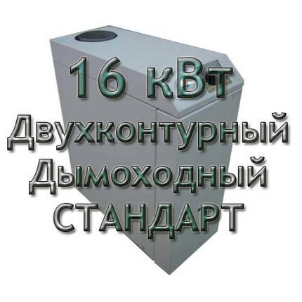 Газовый котел дымоходный двухконтурный Евротерм Колви 16 TB B (CPM С) СТАНДАРТ, фото 2