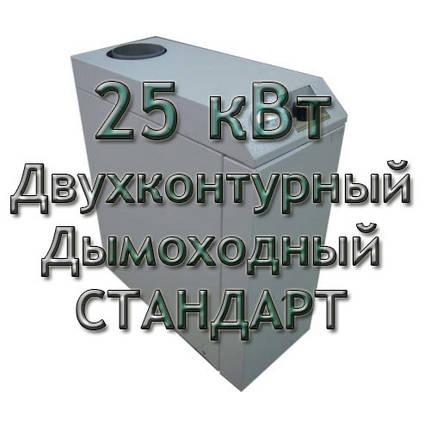 Газовый котел дымоходный двухконтурный Колви Евротерм 25 TB B (CPМ С) СТАНДАРТ, фото 2