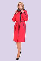 Легкий стильный женский плащ на плюсовую весеннюю погоду 50-58 размер