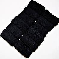 """Резинки для волос широкая """"черная mini"""""""