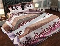 Стильное постельное белье 100 % хлопок семейное