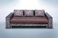 Прямой диван еврокнижка Атлант Люкс