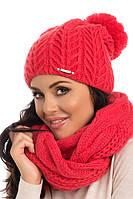 Теплый женский модный шарф-снуд от Pawonex - Alison