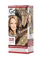 Стойкая крем-краска для волос GALANT IMAGE 3.72 Кофейный Блонди