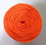Пряжа МАКЕРОНИ, СПАГЕТТИ цвет оранжевый неон