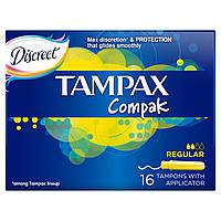 Тампоны Tampax Compak Regular с апликатором 16 шт.