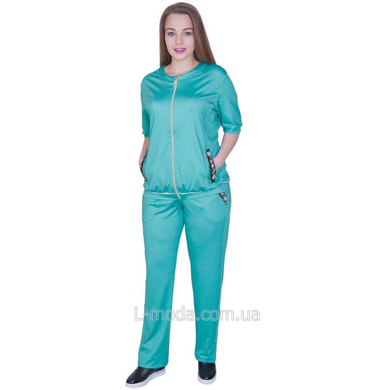 0b046d97 Спортивный костюм женский зеленый - L MODA магазин женской одежды,  производитель женской одежды и поставщик