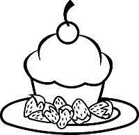 Пирожено  (вишенка) (от 15х15 см)