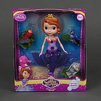 Кукла-русалка ZT 8669 подсветка, на батарейках, в коробке