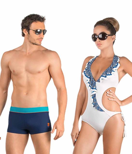 Пляжная одежда, купальники и плавки