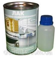 Эпоксидно-полиуретановый лак с отвердителем.