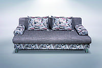 Прямой диван еврокнижка Лотос