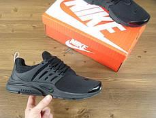 Мужские кроссовки Nike Air Presto Fleece Black 305919 009, Найк Аир Престо, фото 3