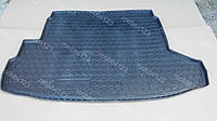 Супер коврик в багажник Nissan X-Trail T31 (2007-2014) (с органайзером) мягкий полиуретан (A-Gumm)
