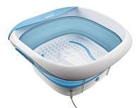 Силиконовая складывающаяся гидромассажная ванночка с вибромассажем Foldaway Luxury Foot SPA FB-350-EU , фото 1
