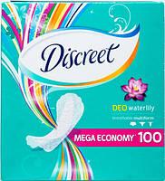 Ежедневные гигиенические прокладки Discreet Deo Water Lily 100 шт.