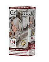 Стойкая крем-краска для волос GALANT IMAGE 3.94 Серебристый Блондин