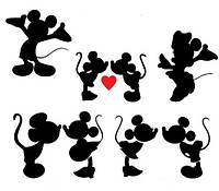 Виниловая наклейка-любовь (от 25х30 см)