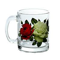 Набор кружек чайных 300мл Букет Роз 2шт 04с1208