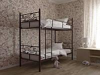 Металлическая двухъярусная кровать Соната Дуо ТМ Скамья