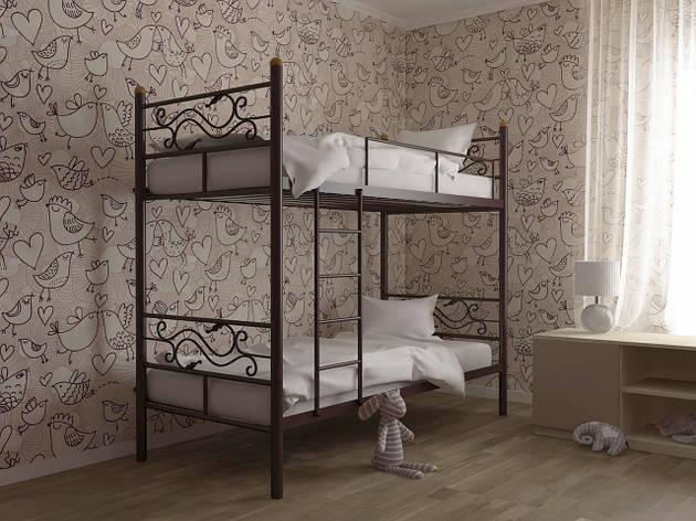 Металлическая двухъярусная кровать Соната Дуо ТМ Скамья, фото 2