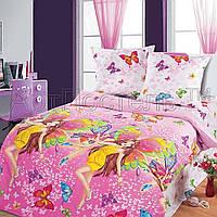 Постельное белье в кроватку Красотки (бязь ГОСТ)
