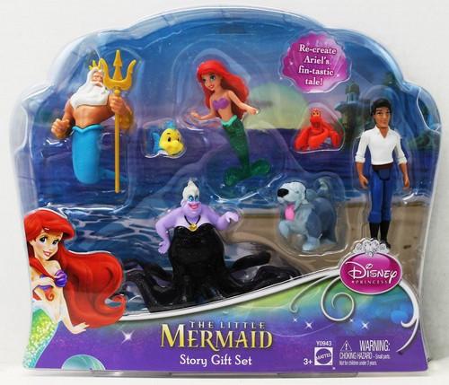 Disney Princess The Little Mermaid Story Set ( Игровой набор Принцессы Диснея Волшебная страна Ариэль )