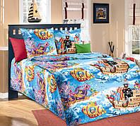 Постельное белье в кроватку Пираты (бязь ГОСТ)